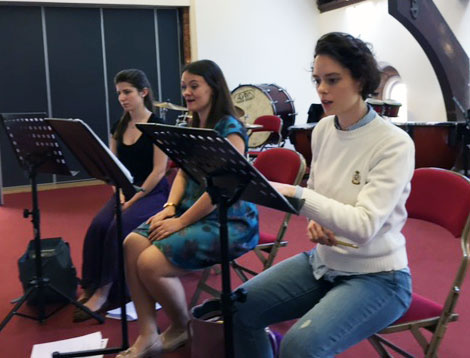 Soloist-rehearsal